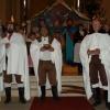 Živý Betlém,kostel na Horním nám.Jablonec nad Nisou 24.12.2009