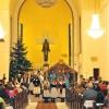Živý betlém Štědrý den - kostel Horní náměstí Jablonec nad Nisou 2008